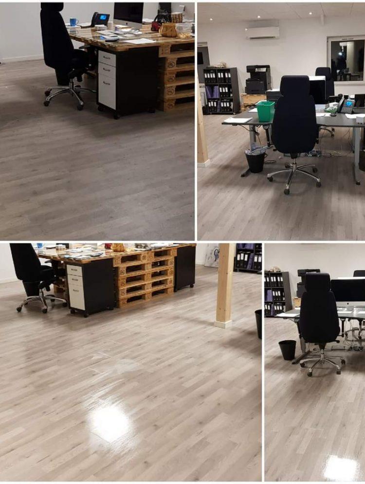 Rengøring af kontor